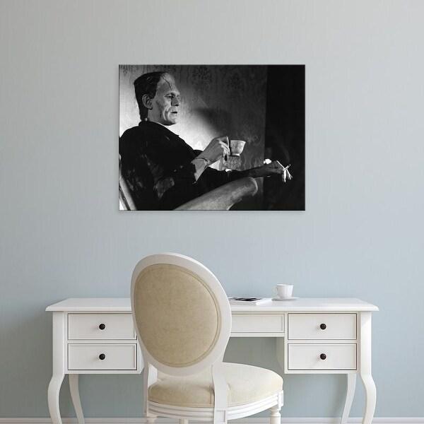 Easy Art Prints Unknown's 'Even Monsters Need a Break' Premium Canvas Art