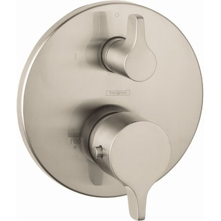 Hansgrohe 04352  S/E Thermostatic Valve Trim with Integrated Volume Control