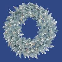 "36"" Silver Fir Wreath DuraLit 100CL"