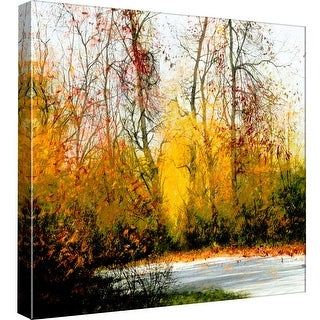 """PTM Images 9-97788  PTM Canvas Collection 12"""" x 12"""" - """"Fall"""" Giclee Forests Art Print on Canvas"""