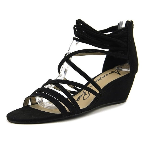 American Rag Mirah Women Black Sandals