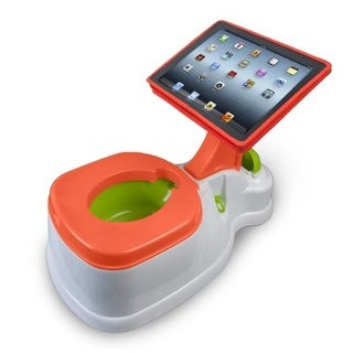 CTA Digital PADPOTTYM CTA Digital 2-in-1 iPotty with Activity Seat for iPad
