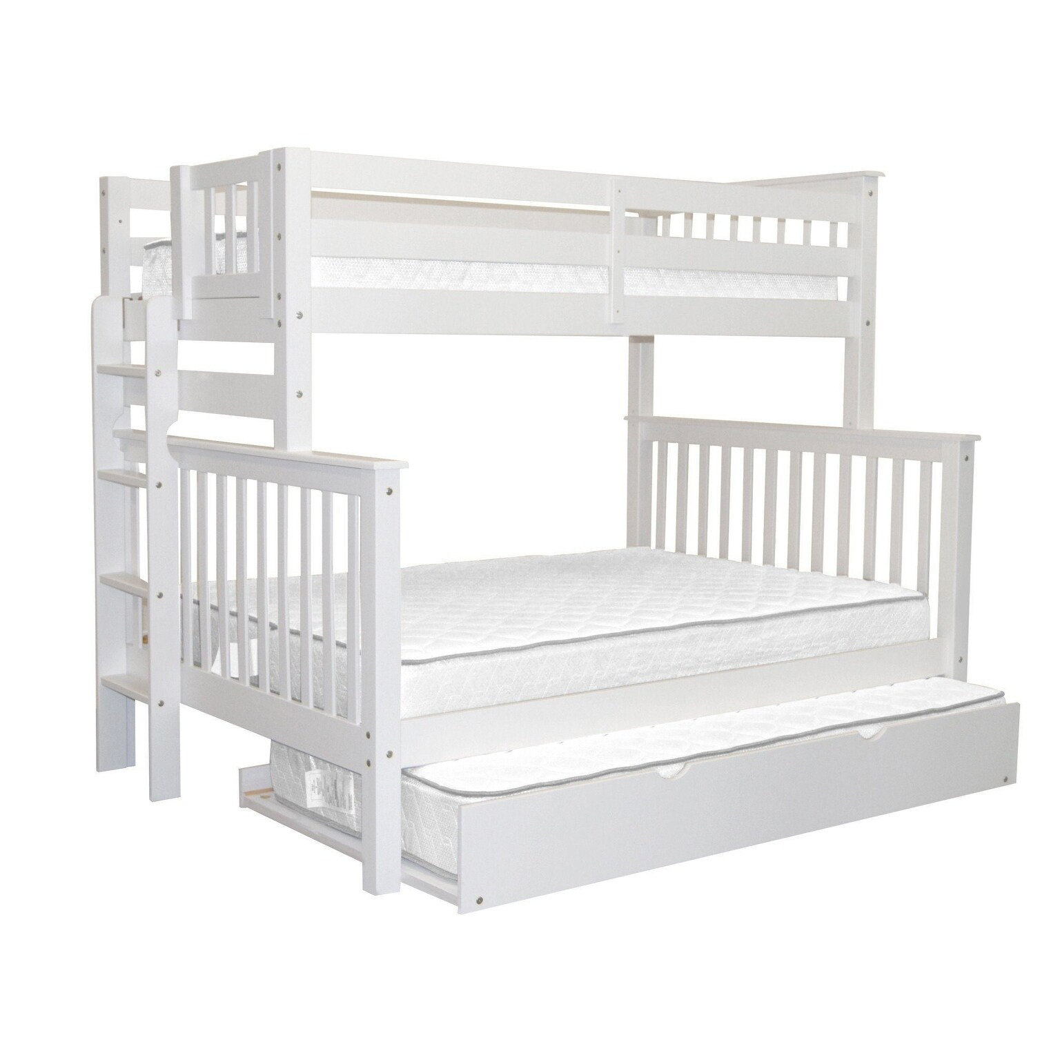 Taylor Olive Trillium Twin Over Full Bunk Bed Twin Trundle Overstock 24238966