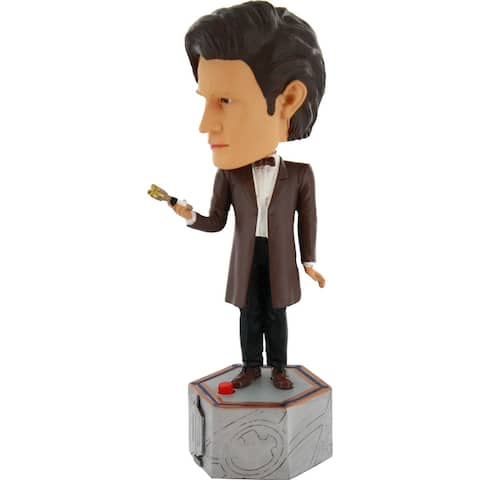 Doctor Who: Electronic 11th Doctor Bobblehead - Multi