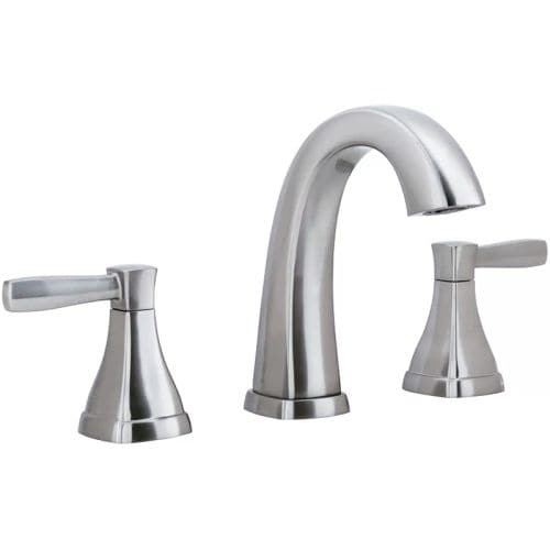 Miseno ML641 Elysa-V Widespread Bathroom Faucet - Includes Lifetime Warranty and Push Drain Assembly