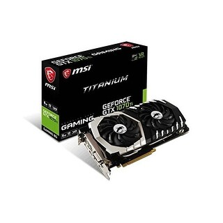 Msi - Nvidia - Gtx 1070 Ti Titan 8G