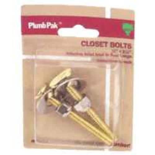 Plumb Pak PP835-17 Toilet Bolt Set 5/16-20x2-1/4