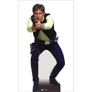 Advanced Graphics 795 Han Solo Life-Size Cardboard Stand-Up