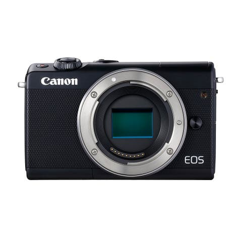 Canon EOS M100 Mirrorless Digital Camera (Black)