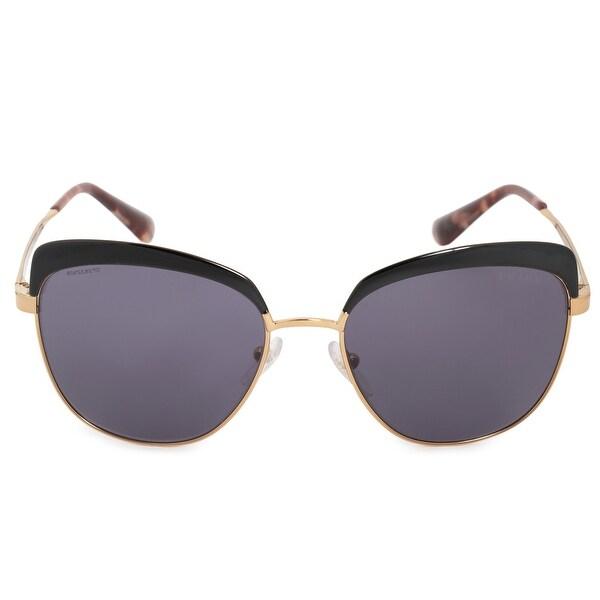 22d118ea488f8 Shop Prada Cinema Square Sunglasses PR51TS LAX6O2 56 - Free Shipping ...