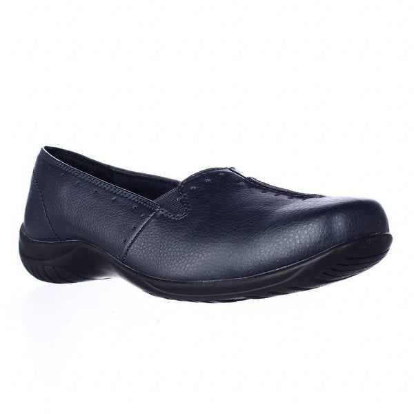 Easy Street Purpose Slip-On Flats, Navy