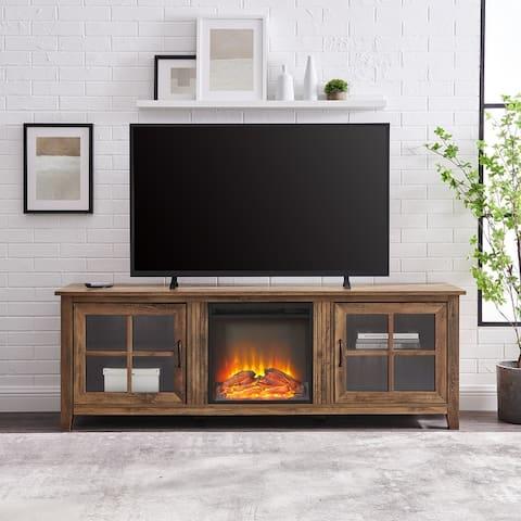 Copper Grove Dornbirn 70-inch Fireplace TV Console