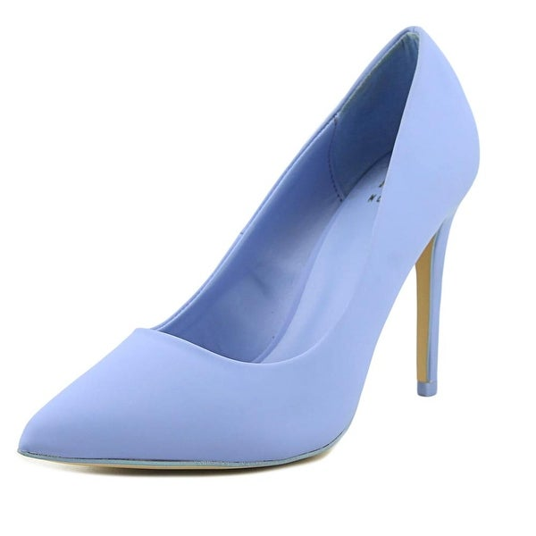 Mix No 6 Lill Women Pointed Toe Synthetic Blue Heels