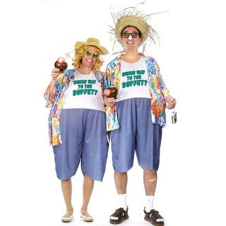 Tacky Traveler Adult Costume One Size Fits Most