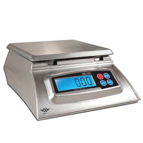 "My Weigh KD-7000 Digital Kitchen and Office Scale (Silver) - 9.8"" x 8"" x 3.8"""