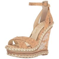 Jessica Simpson Womens Ahnika Open Toe Casual Platform Sandals