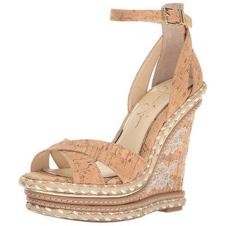 Jessica Simpson Womens Ahnika Open Toe Casual Platform Sandals
