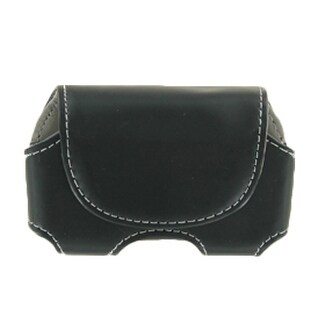 WASP Leather Protective Holster Pouch for Palm Pre (Black)