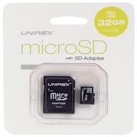 Unirex 32GB MicroSDHC Card