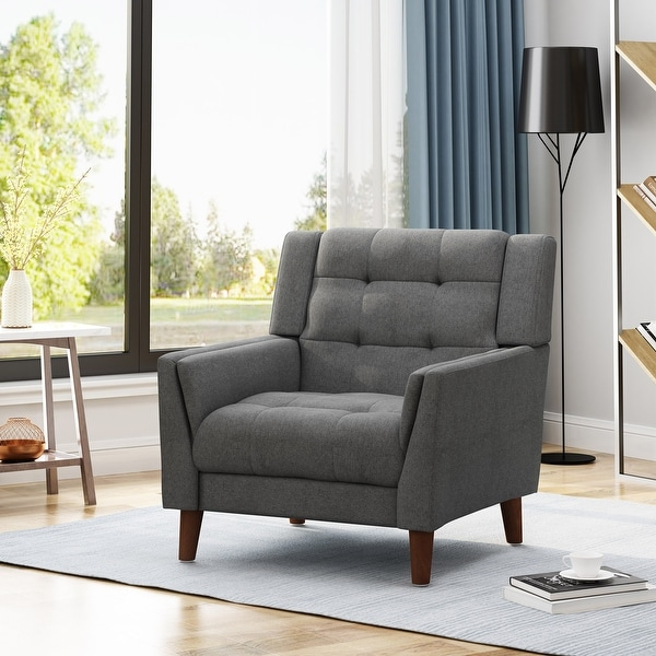 Candace Mid-century Modern Armchair by Christopher Knight Home. Opens flyout.