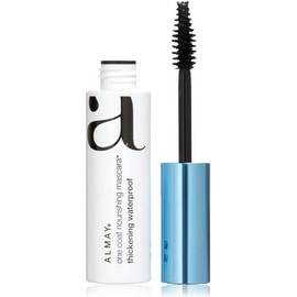 Almay One Coat Nourishing Waterproof Thickening Mascara, Black, 0.4 oz