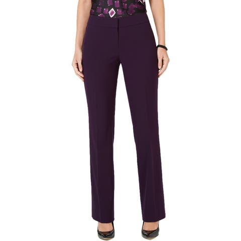 Nine West Womens Trouser Pants Stretch Low-Rise