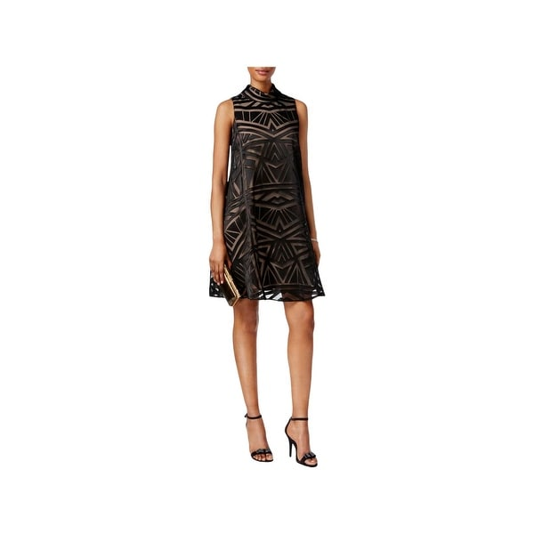 Vince Camuto Womens Cocktail Dress Woven Mini. Opens flyout.