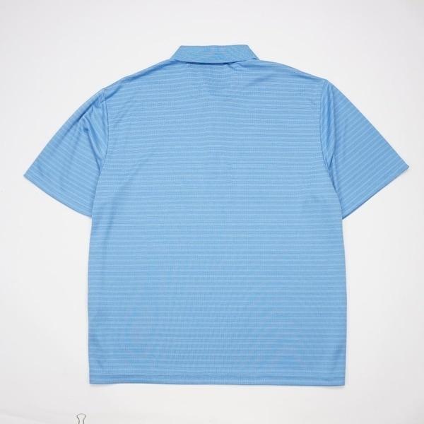 Ben Hogan Mens Striped Short Sleeve Performance Polo