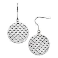 Chisel Stainless Steel Dangle Earrings