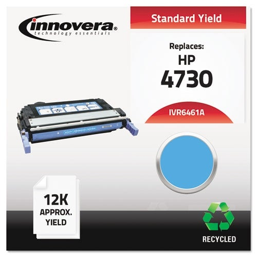 Innovera Remanufactured Q6461A (644A) Toner, Cyan Remanufactured Q6461A (644A) Toner, Cyan