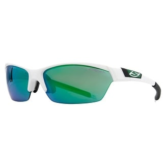 SMITH OPTICS Sport Approach Men's WHT White Green Sunglasses - 54mm-15mm-130mm