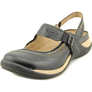 Romika Milla 20 Round Toe Leather Clogs