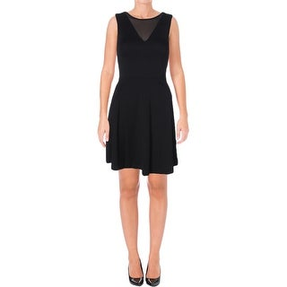 French Connection Womens Casual Dress Solid Sleeveless