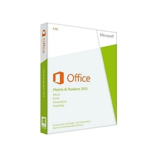 Microsoft Office 2013 Home & Student 32/64-bit 79G-03575 MS Office Software