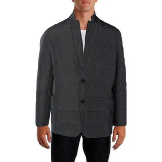 DKNY Jeans Mens Coat Quilted Lined - XL