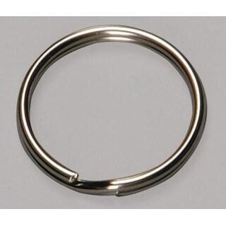 """Hy-Ko KB105 Split Key Ring, 1"""", 100 Pcs/Bag"""