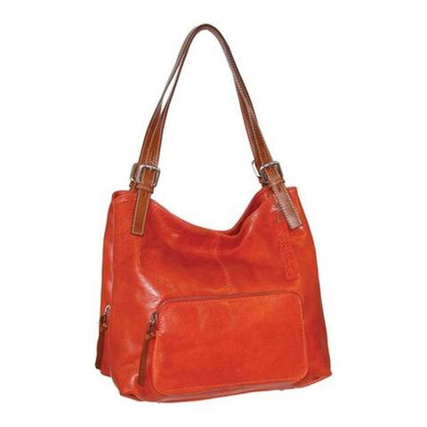 eae71b607ac0 Nino Bossi Women's Isabel Leather Satchel Brick - US Women's One Size (Size  ...