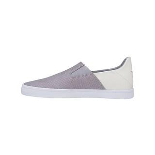 Creative Recreation Womens Dano Sneakers in White Grey Snake