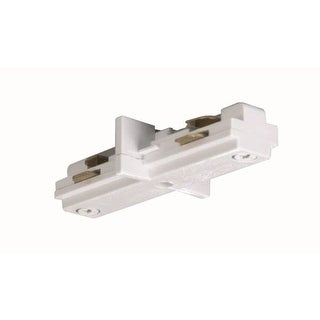 Nuvo Lighting TP144 White Mini Straight Connector