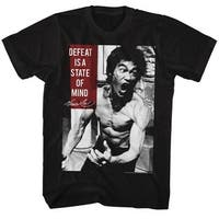 Bruce Lee Stateofmind Mens Crew Tee T Shirt
