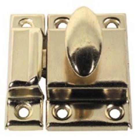 Stanley 75-6050 Cupboard Catche, Bright Brass