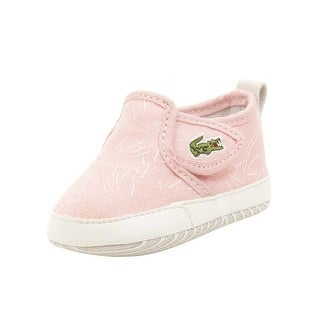 Lacoste Baby Gazon Crib 316 Sneakers in Light Pink