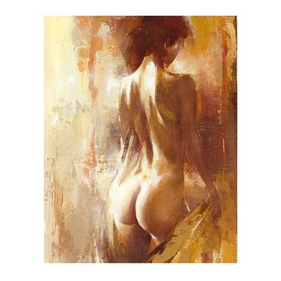 ''Le Boudoir I'' by Alain Dumas Kunst Graphics Art Print (19.75 x 15.75 in.)