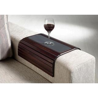 "16.5"" Wood Flexi Sofa/Arm Chair Table - Brown"