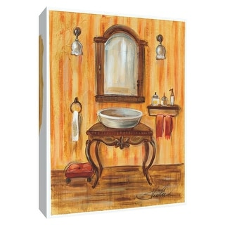 "PTM Images 9-154377  PTM Canvas Collection 10"" x 8"" - ""Tuscan Bath II"" Giclee Bathroom Art Print on Canvas"