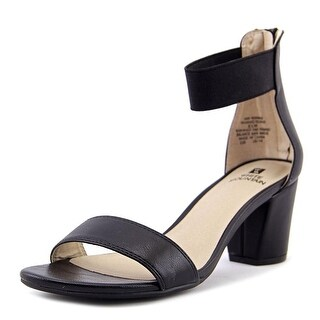 White Mountain Womens Elinie Fabric Open Toe Casual Ankle Strap Sandals (More options available)