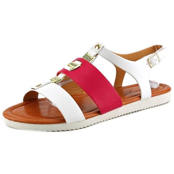 DbDk Fashion Nichole-1 Women Open Toe Synthetic Sandals
