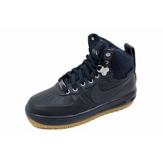 Nike Grade-School Lunar Force 1 Sneakerboot GS Dark Obsidian 706803-401