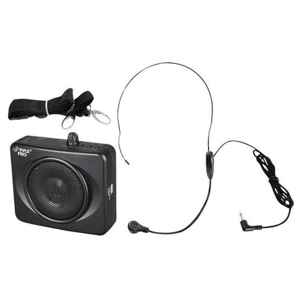 PylePro PWMA60UB Waistband Portable PA System with USB Input - Black