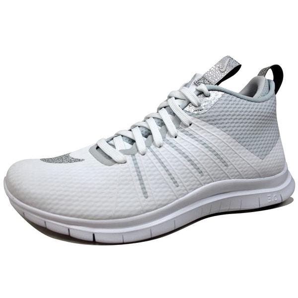pretty nice b22f5 9a275 ... Men s Athletic Shoes. Nike Men  x27 s Free Hypervenom 2 FS  White Metallic Silver 805890-